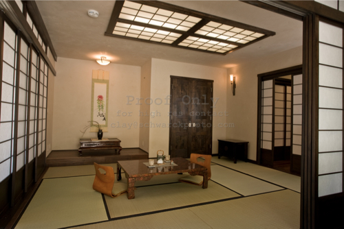living room in japanese design in trilogy builds a japanese tea house 15713