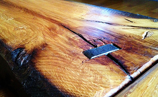 Think about adding a reclaimed wood coffee table to your home