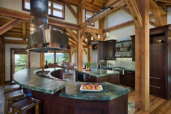 using natural materials in home building
