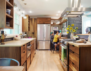 "For anyone looking to upgrade their kitchen BUT remain eco-friendy, here are a few ""green"" kitchen appliances that you'll want to consider.  Source: Houzz"