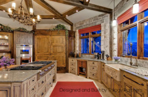 A kitchen designer will make sure that your kitchen layout will be both functional and look fabulous.